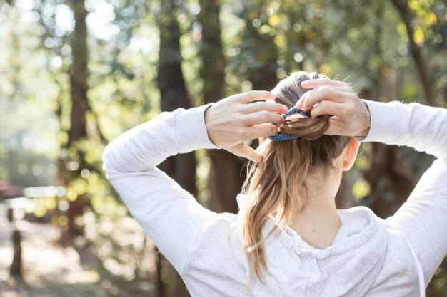 correr cabelo